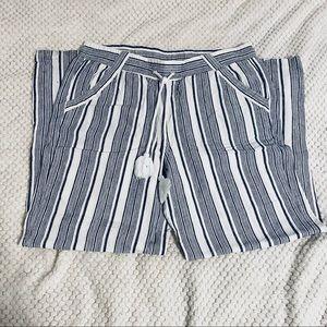 💛 Ladies Linen Pants Size L